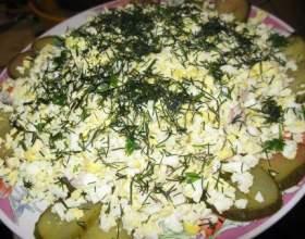 Салат з мізків фото