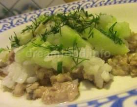Салат з печінкою тріски фото