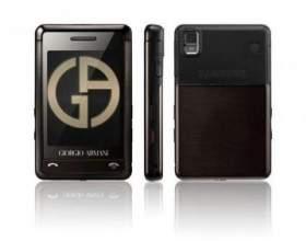 Samsung armani (sgh-p520) фото