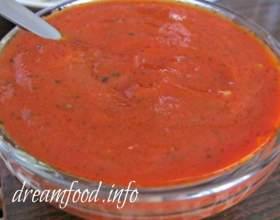 Сантан - соус для мант і м`ясних страв фото