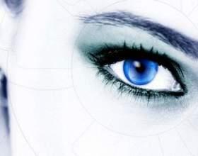 Секрети загадкового макіяжу смокі айс для блакитних очей фото