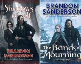 Shadows of self / the bands of mourning - brandon sanderson фото