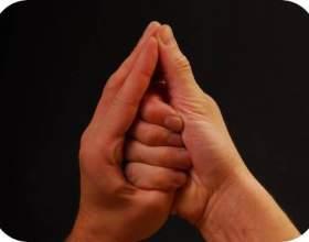 Shankh мудра - для зняття захворювань горла і проблем з промовою фото