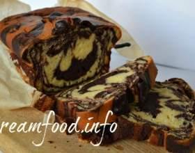 Шоколадно -тиквенний кекс фото