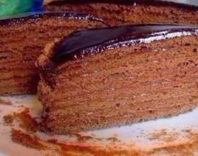 """Шоколадний медовик «дамський каприз» С""""РѕС'Рѕ"""