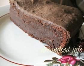 Шоколадний пиріг фото