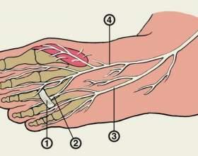 Оніміння пальців ніг фото