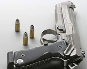Швидкість кулі пістолета фото