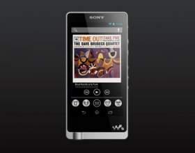 Sony представила новітні музичні плеєри на android фото