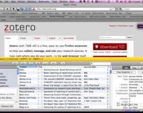 Стилі і «соціальність» в zotero: профілі і групи фото