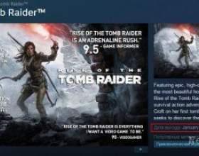 Сторінка rise of the tomb raider в steam підтверджує січневий реліз пк-версії гри фото