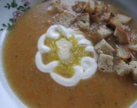 Суп-пюре морквяний з овочами фото
