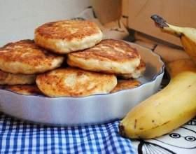 Сирники з бананом (без цукру) фото