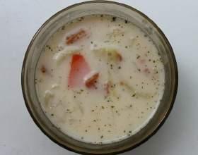 Сирний суп фото