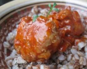 Тефтелі м`ясні в томаті фото