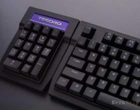 Tesoro tizona - клавіатура-клинок для турнірів (numpad і keycaps) фото