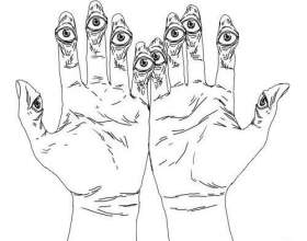 Тест про характер «на пальцях» фото