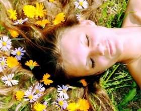 Обполіскуємо волосся травами фото