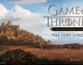 Трейлер game of thrones: episode 2 - the lost lords фото
