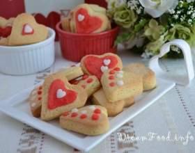 Валентинки - смачне домашнє печиво фото
