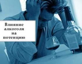 Вплив алкоголю на потенцію у чоловіків фото