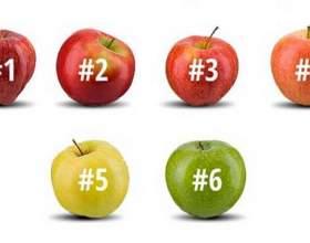 Виберіть яблуко, яке ви б з`їли, і дізнайтеся про себе дещо цікаве фото