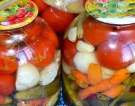 Засолка помідорів гарячим способом фото